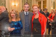 Schiller Charity - Französische Botschaft - Di 28.02.2017 - Pascal TEIXEIRA DA SILVA mit Ehefrau Pascal, Jeanine SCHILLER64
