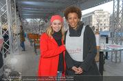 SuperFit Charity Eisstockschießen - Rathausplatz - Mi 08.03.2017 - Sylvia GRAF, Arabella KIESBAUER16