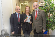 Barbara Stöckl Buchpräsentation - Thalia, Landstraße - Mi 08.03.2017 - Barbara ST�CKL, Heinz NU�BAUMER (NUSSBAUMER), Peter MATIC8
