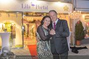 Opening - Lila Portal Baden - Do 09.03.2017 - Monika BOGENDORFER mit Partner Stefan3