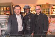 Fashion Award Kick Off - Leiner - Do 23.03.2017 - Werner SCHREYER, Doretta CARTER, JC J�rgen Christian H�RL34
