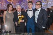 FIlmball Vienna 2017 - Rathaus - Fr 24.03.2017 - Peter WECK mit Tochter Barbara, Sohn Philipp und Enkelsohn212