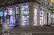 Designwechsel - Swarovski Wien - Mo 27.03.2017 - Swarovski Flagshipstore von au�en bei Nacht, Cubes, Schaufenste48