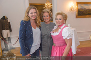 Fete Imperiale Kick Off - Spanische Hofreitschule - Di 09.05.2017 - Stephanie F�RSTENBERG, Elisabeth G�RTLER, Rosi SCHIPFLINGER2