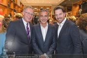 Boutique Opening - MontBlanc Boutique - Mi 10.05.2017 - Reiner HEILMANN, Christian CLERICI, Daniel SERAFIN12