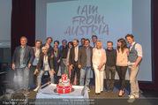 I am from Austria PK - Ronacher - Di 16.05.2017 - Gruppenfoto Cast und Leading Team11