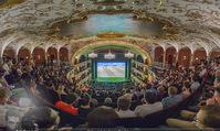 SKY Champions League Finale - Volkstheater - Sa 03.06.2017 - �bersichtsfoto Zuschauerraum Public Viewing Leinwand G�ste56
