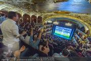 SKY Champions League Finale - Volkstheater - Sa 03.06.2017 - �bersichtsfoto Zuschauerraum Public Viewing Leinwand G�ste60