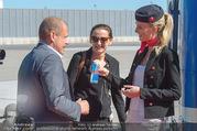 Lifeball Flieger Ankunft - Flughafen Wien Schwechat - Fr 09.06.2017 - 15