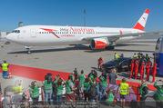 Lifeball Flieger Ankunft - Flughafen Wien Schwechat - Fr 09.06.2017 - Lifeball Flieger Ankunft Flugzeug, Landebahn, Ankunft22