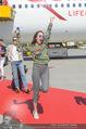 Lifeball Flieger Ankunft - Flughafen Wien Schwechat - Fr 09.06.2017 - Pat CLEVELAND28