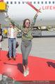 Lifeball Flieger Ankunft - Flughafen Wien Schwechat - Fr 09.06.2017 - Pat CLEVELAND30