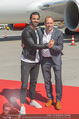 Lifeball Flieger Ankunft - Flughafen Wien Schwechat - Fr 09.06.2017 - Nyle DIMARCO, Gery KESZLER46