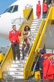 Lifeball Flieger Ankunft - Flughafen Wien Schwechat - Fr 09.06.2017 - Yasemine PETTY49