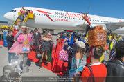 Lifeball Flieger Ankunft - Flughafen Wien Schwechat - Fr 09.06.2017 - Lifeball-G�ste, partypeople90