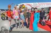 Lifeball Flieger Ankunft - Flughafen Wien Schwechat - Fr 09.06.2017 - Lifeball-G�ste, partypeople91
