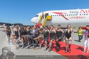 Lifeball Flieger Ankunft - Flughafen Wien Schwechat - Fr 09.06.2017 - Lifeball-G�ste, partypeople93