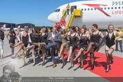 Lifeball Flieger Ankunft - Flughafen Wien Schwechat - Fr 09.06.2017 - Lifeball-G�ste, partypeople94