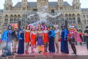 Lifeball - Red Carpet - Rathausplatz - Sa 10.06.2017 - Style Polize, Style Bible1