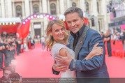 Lifeball - Red Carpet - Rathausplatz - Sa 10.06.2017 - Alfons HAIDER, Mirjam WEICHSELBRAUN8