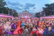 Lifeball - Red Carpet - Rathausplatz - Sa 10.06.2017 - �bersichtsfoto Red Carpet Rathausplatz, G�ste, Kost�me84