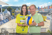 Promi Beachvolleyball - Strandbad Baden - Mi 14.06.2017 - Kurt FAIST, Kerstin LECHNER3