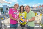 Promi Beachvolleyball - Strandbad Baden - Mi 14.06.2017 - Kurt FAIST, Kerstin LECHNER, Norbert BLECHA4