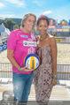 Promi Beachvolleyball - Strandbad Baden - Mi 14.06.2017 - Norbert BLECHA mit Freundin Monika5