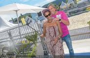 Promi Beachvolleyball - Strandbad Baden - Mi 14.06.2017 - Norbert BLECHA mit Freundin Monika11