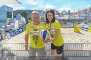 Promi Beachvolleyball - Strandbad Baden - Mi 14.06.2017 - Reinhard NOWAK, Kerstin LECHNER15