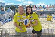 Promi Beachvolleyball - Strandbad Baden - Mi 14.06.2017 - Reinhard NOWAK, Kerstin LECHNER16