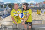 Promi Beachvolleyball - Strandbad Baden - Mi 14.06.2017 - Reinhard NOWAK, Kerstin LECHNER17