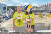 Promi Beachvolleyball - Strandbad Baden - Mi 14.06.2017 - Reinhard NOWAK, Kerstin LECHNER18
