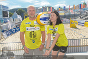Promi Beachvolleyball - Strandbad Baden - Mi 14.06.2017 - Reinhard NOWAK, Kerstin LECHNER19