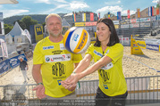 Promi Beachvolleyball - Strandbad Baden - Mi 14.06.2017 - Reinhard NOWAK, Kerstin LECHNER20