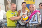 Promi Beachvolleyball - Strandbad Baden - Mi 14.06.2017 - Reinhard NOWAK, Vera RUSSWURM, Christoph F�LBL34