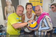 Promi Beachvolleyball - Strandbad Baden - Mi 14.06.2017 - Reinhard NOWAK, Vera RUSSWURM, Christoph F�LBL35