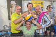 Promi Beachvolleyball - Strandbad Baden - Mi 14.06.2017 - Reinhard NOWAK, Vera RUSSWURM, Christoph F�LBL, Kurt FAIST36