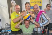Promi Beachvolleyball - Strandbad Baden - Mi 14.06.2017 - Reinhard NOWAK, Vera RUSSWURM, Christoph F�LBL, Kurt FAIST37