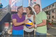 Promi Beachvolleyball - Strandbad Baden - Mi 14.06.2017 - Hans ENN, Vera RUSSWURM, Kurt FAIST40