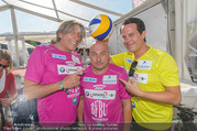 Promi Beachvolleyball - Strandbad Baden - Mi 14.06.2017 - Norbert BLECHA, Gregor GLANZ, Christoph F�LBL54
