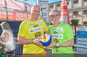 Promi Beachvolleyball - Strandbad Baden - Mi 14.06.2017 - Carsten JANCKER, Peter ST�GER56