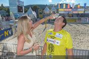Promi Beachvolleyball - Strandbad Baden - Mi 14.06.2017 - Gregor GLANZ mit Freundin Daniela69