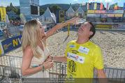 Promi Beachvolleyball - Strandbad Baden - Mi 14.06.2017 - Gregor GLANZ mit Freundin Daniela70
