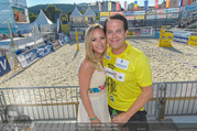 Promi Beachvolleyball - Strandbad Baden - Mi 14.06.2017 - Gregor GLANZ mit Freundin Daniela71