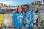 Promi Beachvolleyball - Strandbad Baden - Mi 14.06.2017 - Andrew YOUNG, Roberto BLANCO72
