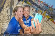 Promi Beachvolleyball - Strandbad Baden - Mi 14.06.2017 - Heidi NEURURER, Nina HARTMANN80