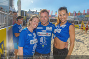 Promi Beachvolleyball - Strandbad Baden - Mi 14.06.2017 - Heidi NEURURER, Nina HARTMANN, Uwe KR�GER81