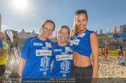 Promi Beachvolleyball - Strandbad Baden - Mi 14.06.2017 - Heidi NEURURER, Nina HARTMANN, Vera RUSSWURM83