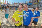 Promi Beachvolleyball - Strandbad Baden - Mi 14.06.2017 - Gregor GLANZ, Walter SCHACHNER86